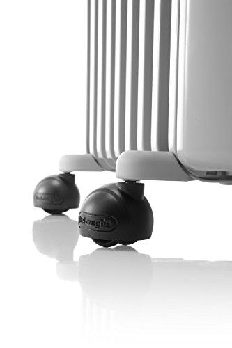 Ölradiator De'Longhi Ölradiator TRRS1225 Radia-S Serie – elektrischer energiesparender Heizkörper mit 12 Rippen für Räume bis 75m³… Heizung 3