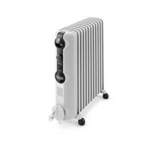 Ölradiator De'Longhi Ölradiator TRRS1225 Radia-S Serie – elektrischer energiesparender Heizkörper mit 12 Rippen für Räume bis 75m³… Heizung