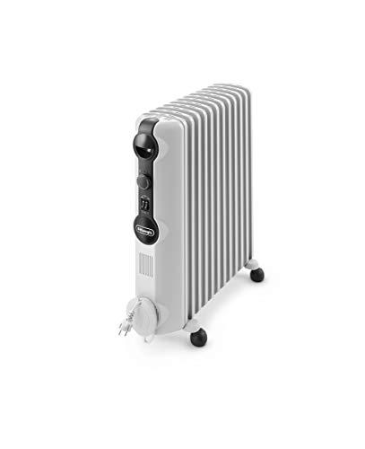 Ölradiator De'Longhi Ölradiator TRRS1225 Radia-S Serie – elektrischer energiesparender Heizkörper mit 12 Rippen für Räume bis 75m³… Heizung 2