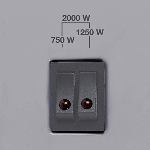 Konvektor Einhell Konvektor CH 2000/1 TT (230 V, 2000 Watt max., 3 Heizstufen, stufenl. Thermostatregler, Befestigung als Wand… Heizung 8