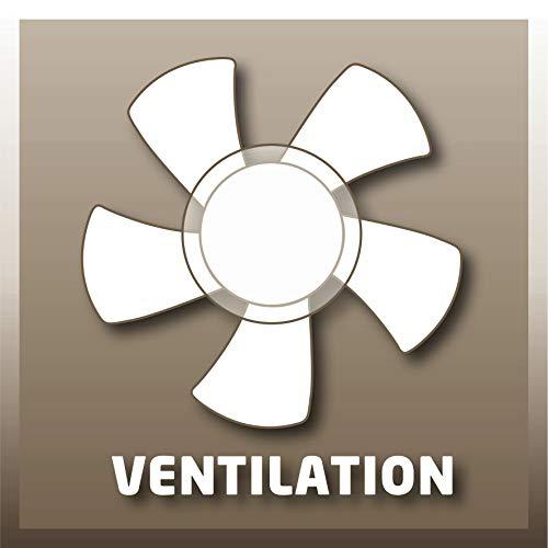 Konvektor Einhell Konvektor CH 2000/1 TT (230 V, 2000 Watt max., 3 Heizstufen, stufenl. Thermostatregler, Befestigung als Wand… Heizung 9