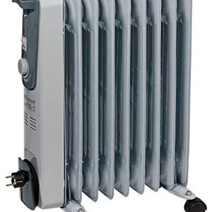 Ölradiator Einhell Ölradiator MR 920/2 (bis 2000 Watt, 3 Heizstufen, stufenloser Thermostatregler, fahrbar, Kipp- und… Heizung