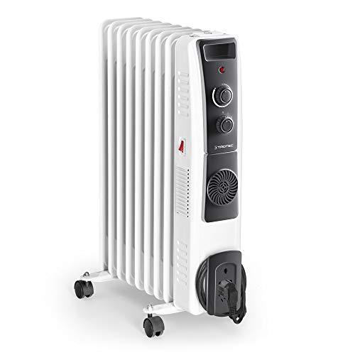 Ölradiator TROTEC Ölradiator TRH 22 E – elektrischer, energiesparender Heizkörper mit 9 Rippen, 3 Heizstufen (800/1.200/2.000 Watt… Heizung 2