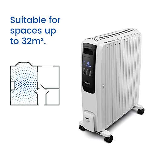 Ölradiator Pro Breeze Premium 2500W Ölradiator energiesparend mit digitalem Display & Fernbedienung – Heizkörper elektrisch mit 10… Heizung 4