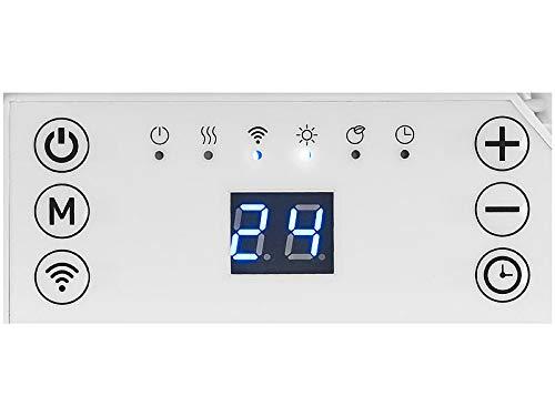 Konvektor Sichler Haushaltsgeräte Konvektor Heizung: Extraflache Konvektorheizung mit App, komp. zu Alexa & Google, 2.000 W… Heizung 4