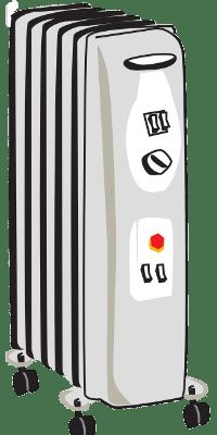 Ölradiator Heizung